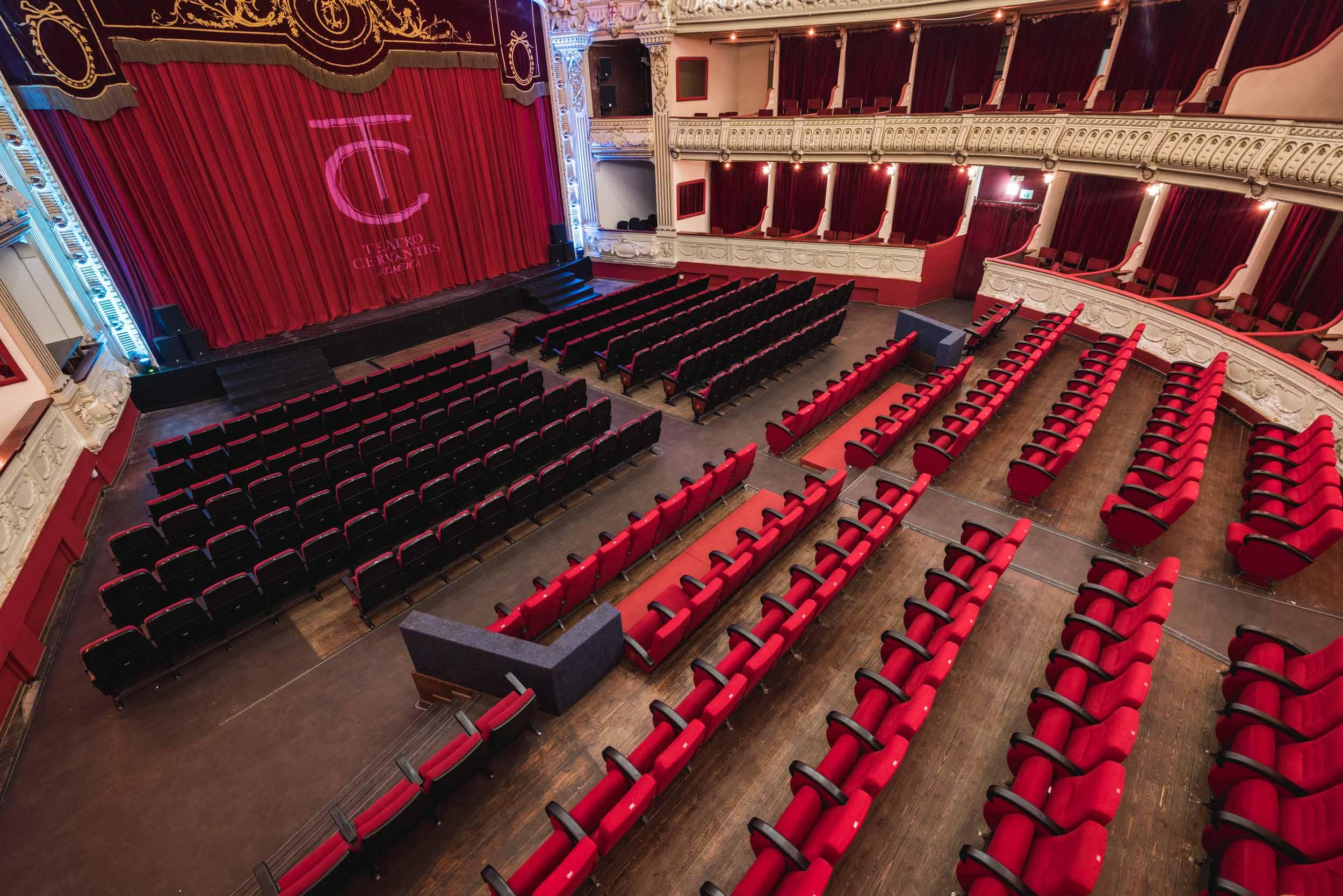 Convocatoria de acceso para cine y teatro 2020