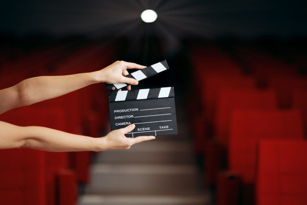 Un actor ante la cámara
